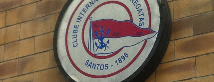 Clube Internacional de Regatas is one of Locais salvos de Rodrigo.