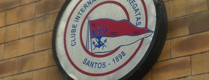 Clube Internacional de Regatas is one of Tempat yang Disimpan Rodrigo.