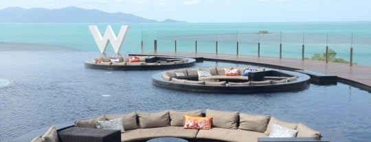 W Koh Samui is one of Amex Mag.