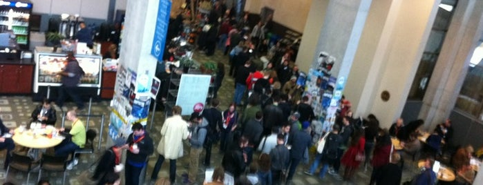 Interminable SXSW Badge Pickup Line is one of Things to SeeMail @ SXSW.
