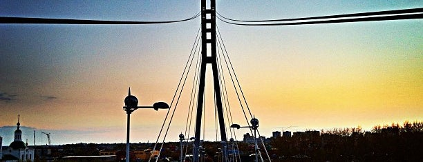 Мост Влюблённых (пешеходный) is one of Alexander'in Beğendiği Mekanlar.