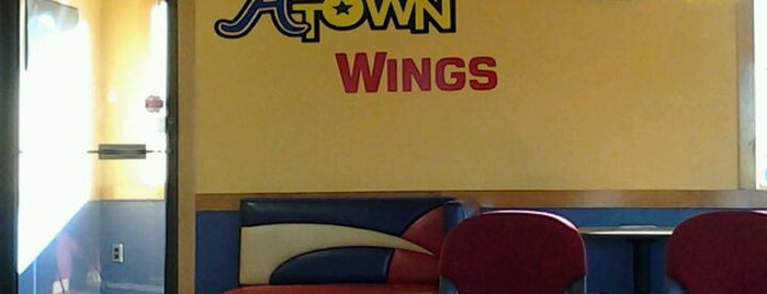 A Town Wings is one of Favorite places.