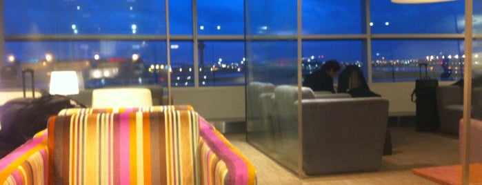British Airways Lounge is one of Airports and Terminals.