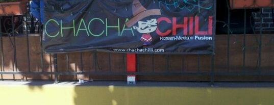 Cha Cha Chili is one of LA LA LAND🌴🌞.
