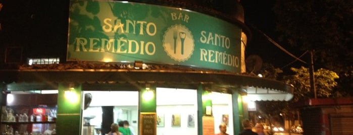 Bar Santo Remédio is one of Melhores Restaurantes e Bares do RJ.