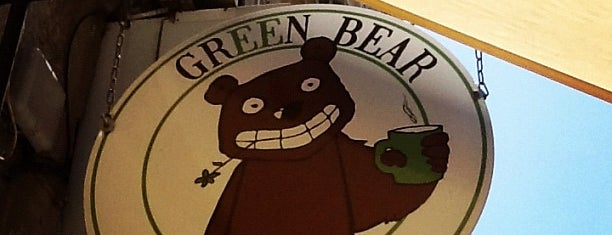 Green Bear Coffee is one of Tempat yang Disimpan Camille.