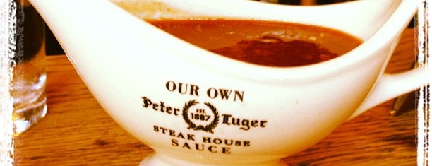 Peter Luger Steak House is one of Brooklyn Eats.