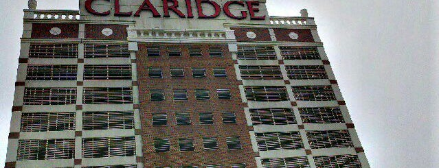 The Claridge - a Radisson Hotel is one of Atlantic City Casinos.