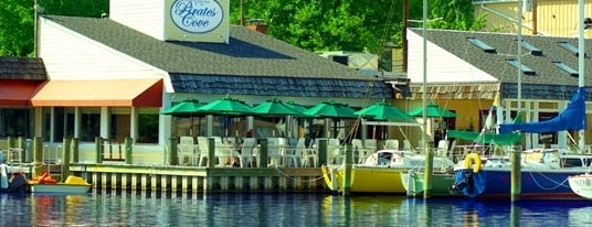 Pirates Cove Restaurant is one of Best of the Bay - Dock Bars of Maryland.