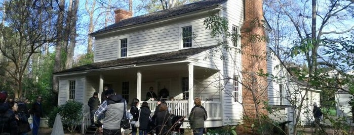 Smith Family Farm - Tullie Smith House is one of Atlanta History.