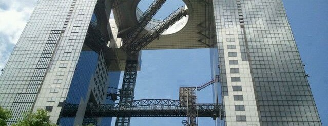 Umeda Sky Building is one of nikkinihon.