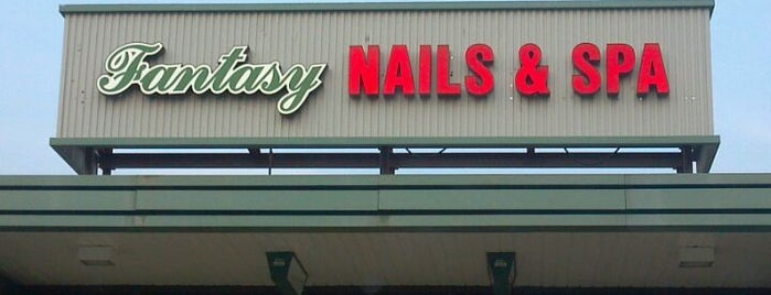 Fantasy Nails & Spa is one of Locais curtidos por Sascz (Lothie).
