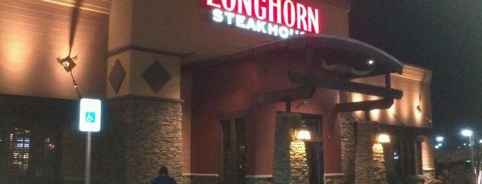 LongHorn Steakhouse is one of Lugares favoritos de Rachel.