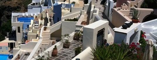 Santorini is one of The Ultimate Bucket List.