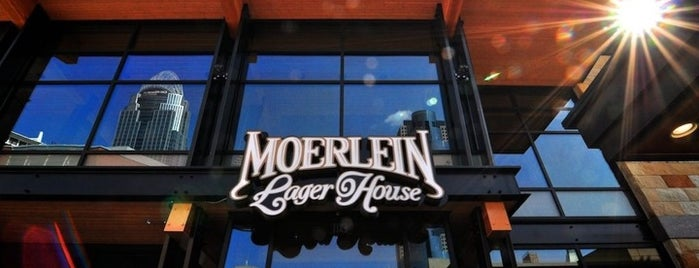 Moerlein Lager House is one of Cincinnati.