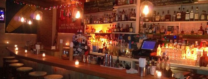 Réunion Surf Bar is one of NYC Bar Hopping.
