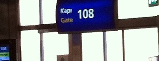 Gate 108 is one of İstanbul Atatürk Airport.