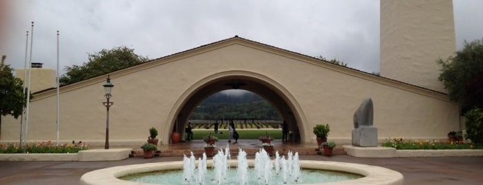 Robert Mondavi Winery is one of Orte, die Arthur gefallen.