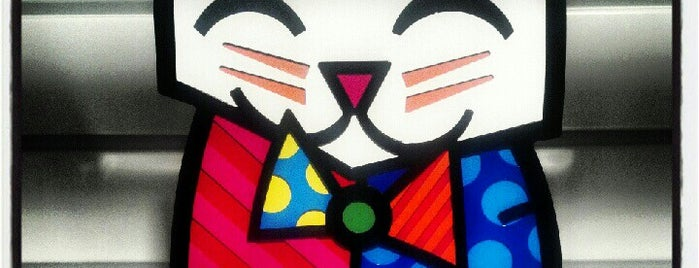 Britto Central Gallery is one of Miami Must Visit.