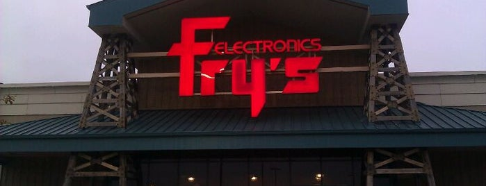 Fry's Electronics is one of Gespeicherte Orte von Mzz.