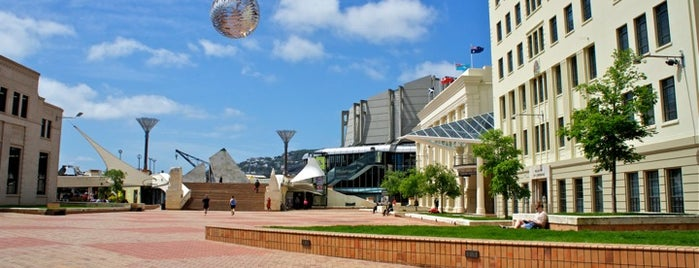 Civic Square is one of Wellington.