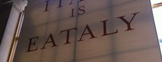 Eataly Flatiron is one of Joe's List - Best Of New York City.