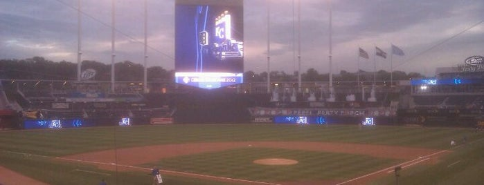 Kauffman Stadium is one of Major League Baseball Parks.