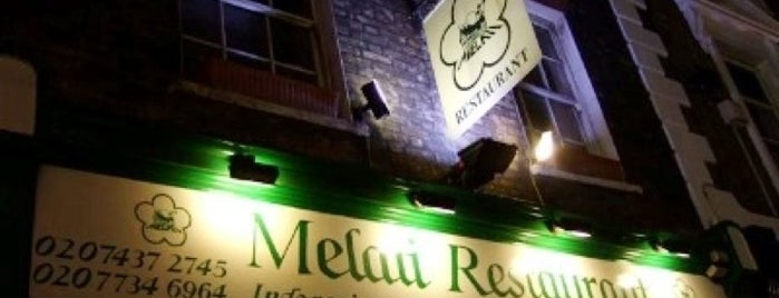 Melati is one of Malaysian Restaurants in London.