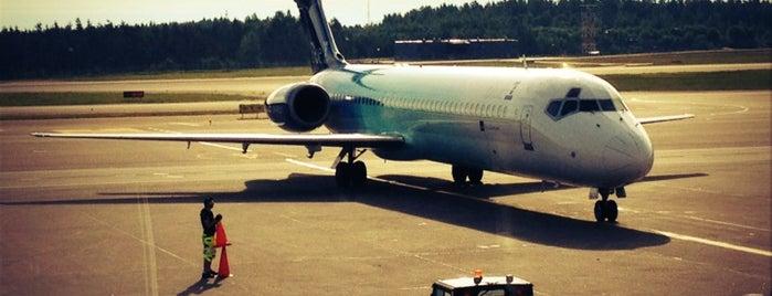 Helsinki Airport (HEL) is one of AIRPORT.