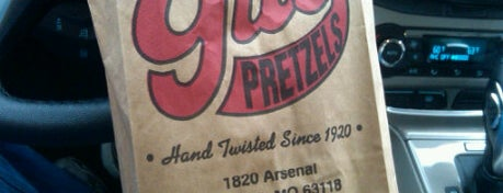 Gus' Pretzels is one of Best Places in #STL #visitUS.