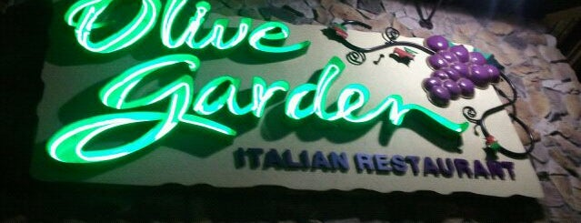 Olive Garden is one of Gluten Free menus.