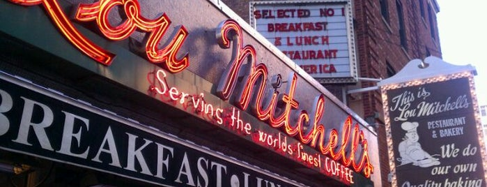 Lou Mitchell's is one of Chicago, IL.