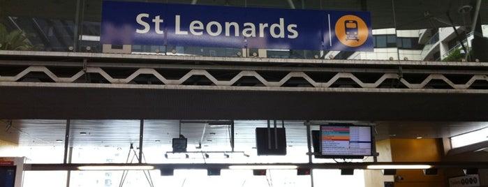 St Leonards Station is one of Sydney Train Stations Watchlist.