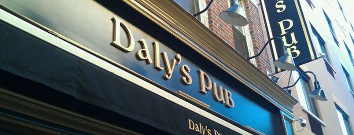Daly's Pub is one of The favorites.