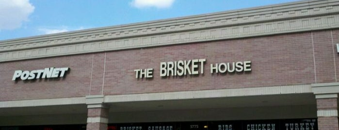 The Brisket House is one of Houston.