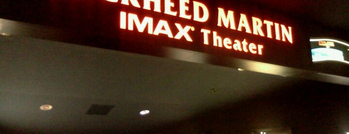 Lockheed Martin IMAX Theater is one of Locais curtidos por Mimi.