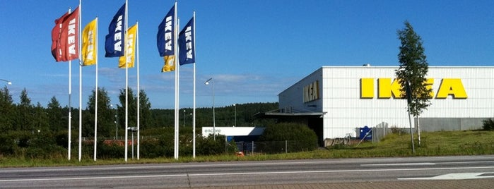 IKEA is one of Stores.