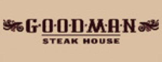 GOODMAN Steak House is one of Resto TOP 100 ресторанов Москвы 2012.