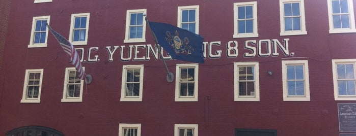 D.G. Yuengling and Son is one of Eastern PA Beer Stops.