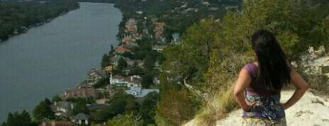 Covert Park at Mt. Bonnell is one of Texas.