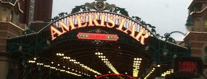 Ameristar Casino is one of Lugares favoritos de Brian.