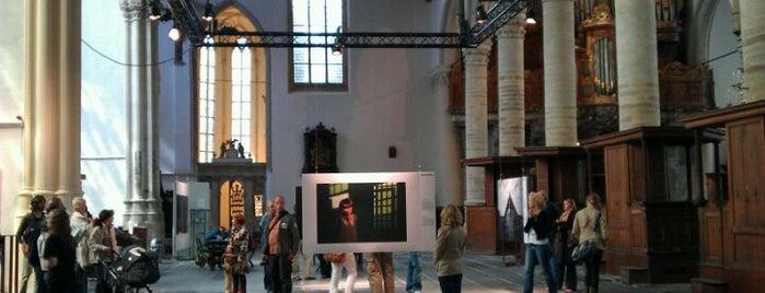 Oude Kerk is one of Gratis toegang met (free entry with) museumkaart..