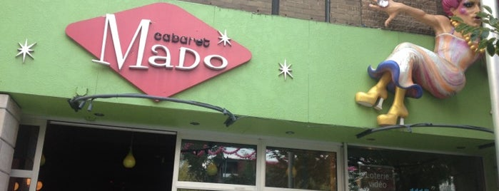 Cabaret Mado is one of Best Terrasses in Montreal.