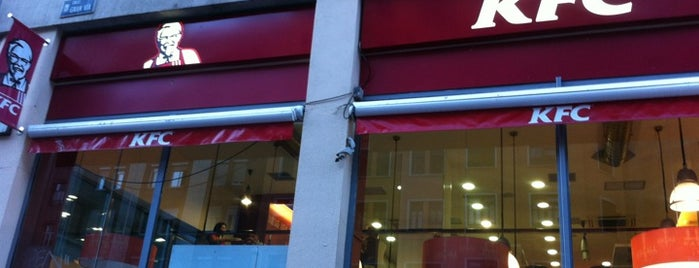 KFC is one of Comer en Madrid.
