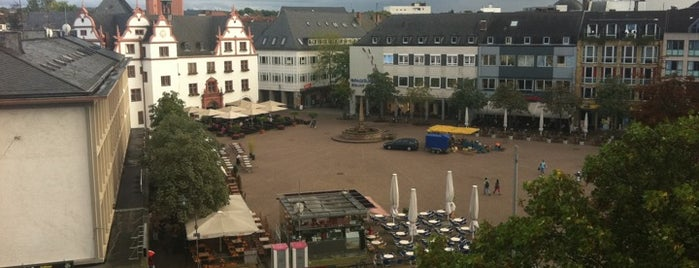 Marktplatz is one of Darmstadt - must visit.