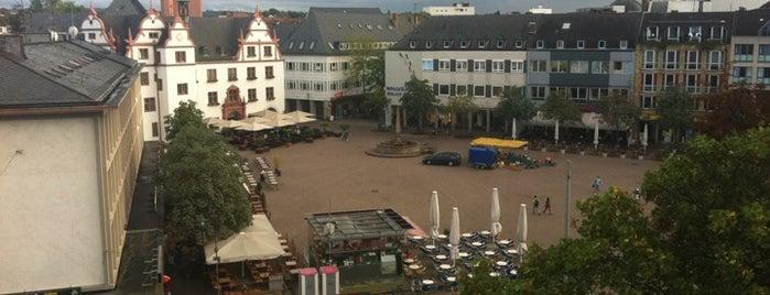 Marktplatz is one of Darmstadt - must visit.