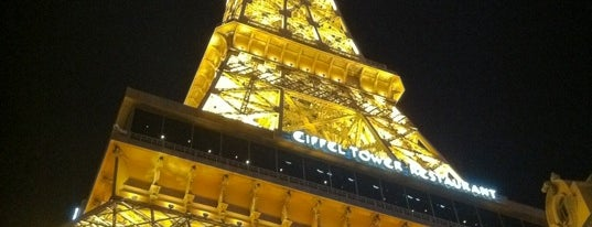 Eiffel Tower is one of Vegas.
