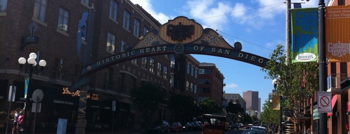 The Gaslamp Quarter is one of California Favorites.
