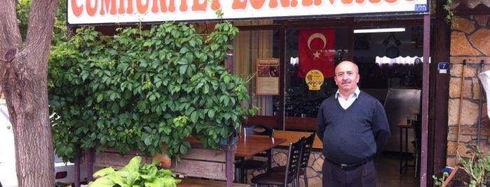 Cumhuriyet Lokantası is one of yenilesi.