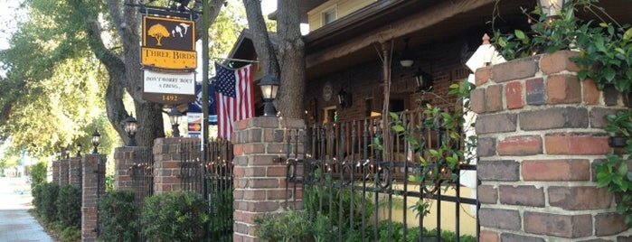 Three Birds Tavern is one of USA Orlando.
